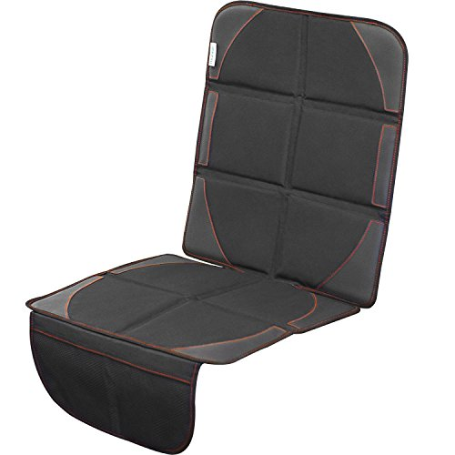 Cheekie Monkie Super Seat Protection Mat, Auto Seat Protector (Seat Cover) with Waterproof Material, Extra Strength Non-Slip Backing, and Sturdy Foam Pads Fits Most Vehicles