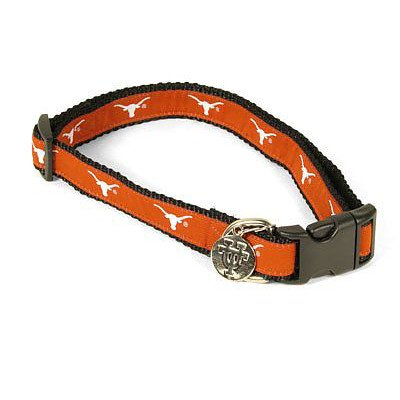 NCAA Texas Longhorns Dog Collar, Medium/Large