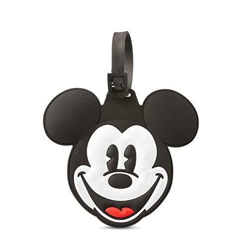 identificador de valija equipaje mochila mickey mouse disney