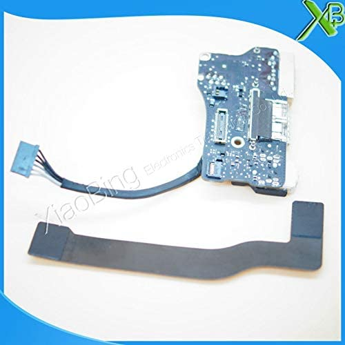 Cable Length: Standard ShineBear 820-3455-A DC Power Jack USB I//O Board with Cable 821-1722-A for MacBook Air 13.3 A1466 2013-2015years