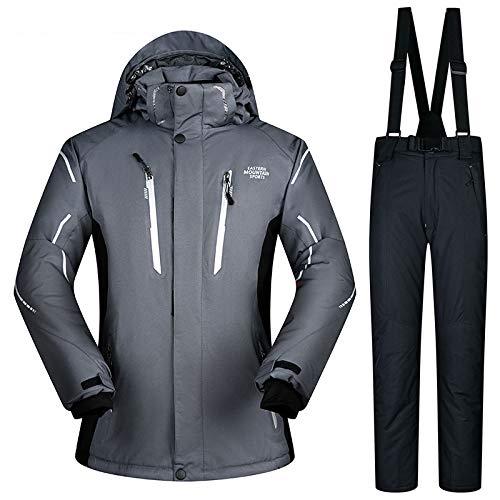 Et Veste Ski vent Costume Cbhei Imperméable Hommes Snowboard Neige Épais Chaud D Hiver Super De Grand Zxgjhxf Coupe RO6ExqUw6