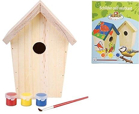 Amazon esschert design usa kg145 childrens build it yourself esschert design usa kg145 childrens build it yourself birdhouse kit solutioingenieria Gallery