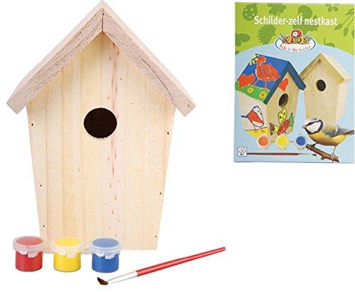 Esschert Design USA KG145 Children's Build it Yourself Birdhouse Kit
