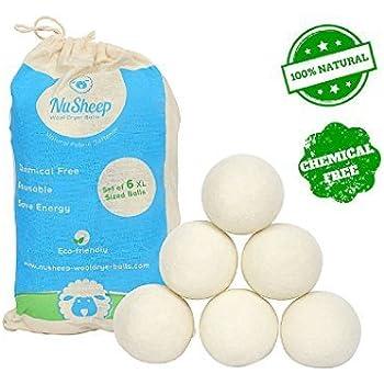 Amazon Com Wool Dryer Balls Nu Sheep Natural Fabric