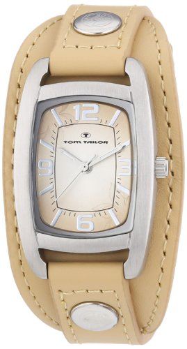 TOM TAILOR Damen-Armbanduhr Analog Quarz Leder 5411903