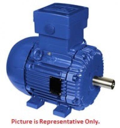 WEG Electric, E00152EP3WAL100LF3, 2HP, 1000/1200RPM, 3PH, 220V;240V;380V;415V;440V;460V, 100L Frame, Standard Flange, Foot Mount, TEFC, IEC Metric Motor. 220 Volt Tefc Motor