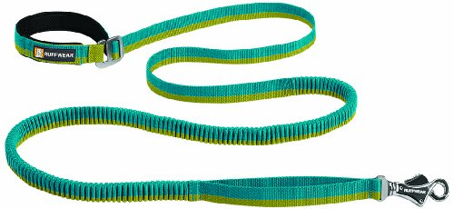 Ruffwear - Roamer Hand-Held or Waist-Worn Extending Dog Leash, Baja Blue, Large