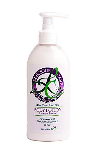 Luscious Lotion pour le corps Soins - 8,8 onces liquides | Professionnellement Formulé à double action Crème anti-cellulite et anti-inflammatoire Lotion mixte de secours | Hydrate, Soins & redonne vitalité et élasticité à la peau et des articulations | am