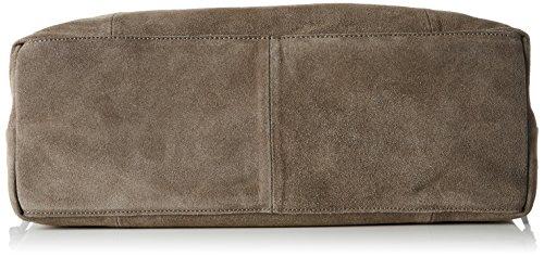 portés Elephant Brun Sacs Bag Suede Skin Pclady épaule Pieces qxpIwff