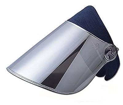 WAYCOM Sun Cap, Sun Visor Hat - UV Protection Hat - Headband Solar Face Shield Hat for Hiking, Golf, Tennis, Outdoors