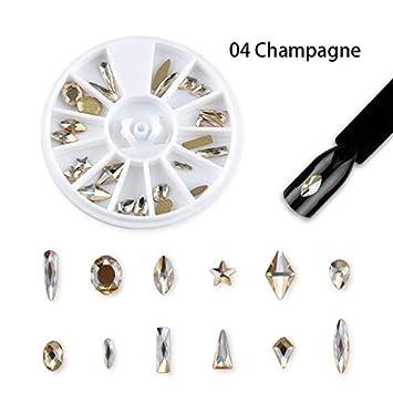 Amazon.com: Accesorios para decoración de uñas, 24 piezas ...