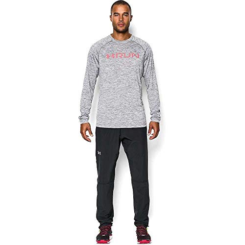 Under Armour Armourvent Storm Run Pant - Men's Black / Black / Reflective Medium