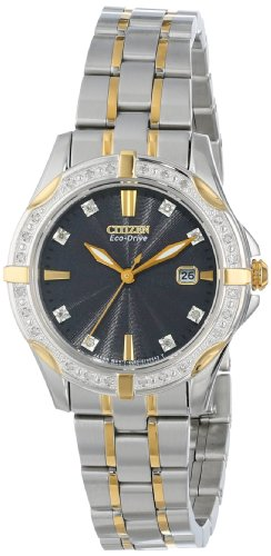 Citizen Eco-Drive Women's EW1924-52H Diamond Watch