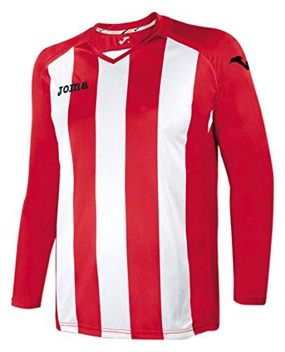 Joma 1202.99 - Camiseta de equipación de manga larga para mujer Rojo / Blanco