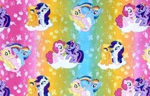 My Little Pony Cotton Window Curtain Valance handmade 42