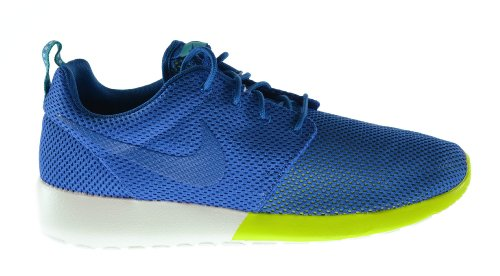 Nike Rosherun Men's Shoes Military Blue-Turbo Green-Summit White 511881-400 (12 D(M) - Road Fashion Military Outlets