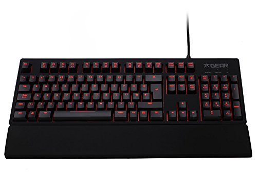 Fnatic Rush LED Backlit Mechanical Pro Gaming Keyboard with ...
