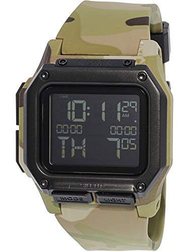 Nixon Men's Regulus A11802865 Green Resin Quartz Fashion Watch