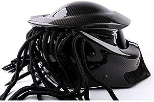 Fayoo Helmet Casco Depredador Casco para Montar En Motocicleta ...