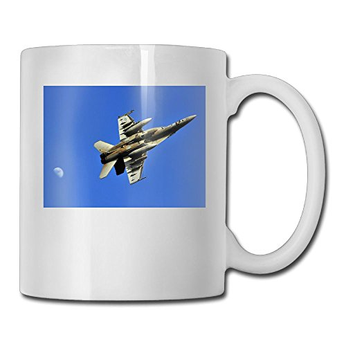 Fengyaojianzhu The Fighter Plane Mugs Cool Ceramic Coffee Tea Cups Double-side Printing 11oz