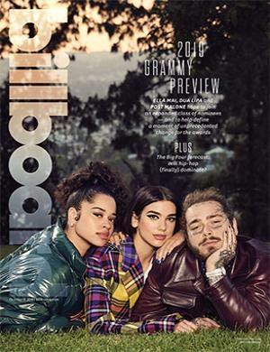 Billboard Magazine (October 13, 2018) Ella Mai, Dua Lipa, Post Malone Cover