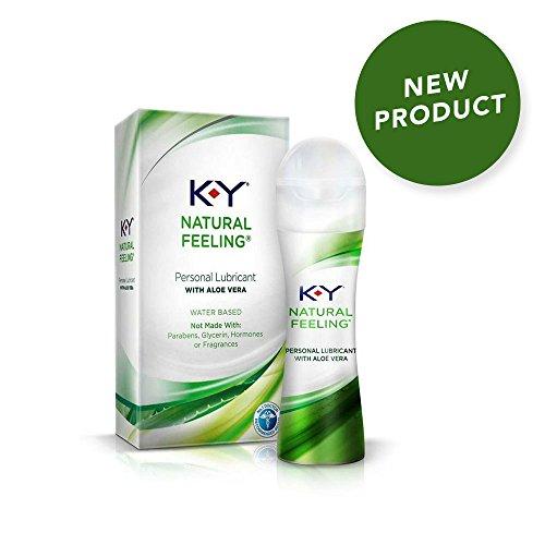 Best buy K-Y Natural Feeling with Aloe Vera Lubricant, 1.69 oz.