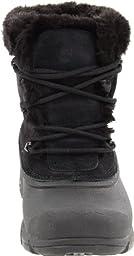 Sorel Women\'s Snow Angel Lace Boot, Black/Noir, 9 M