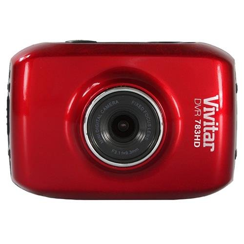 Vivitar DVR 783HD 5.1MP Action Camera, 720p Video at 30fps,