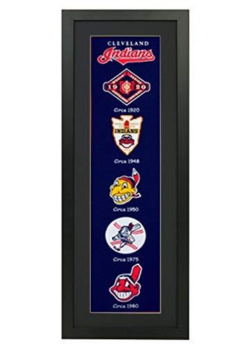 Banner Cleveland Indians (Winning Streak Cleveland Indians Framed Heritage Banner 14x38 inches)