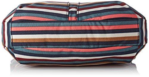 Para 33x23x12 Bolso multi Multicolor Mujer Izellah Bandolera Cm Kipling Stripes tUX7R