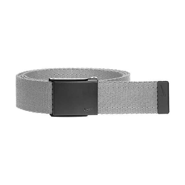 Nike Men's Single Web Belt W/Matte Black Finish