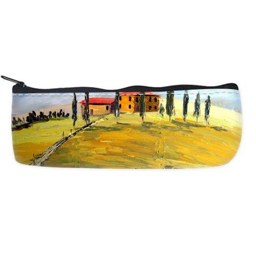 Toscana Agri Custom Art Printing Pencil Case Students Stationery Bags Pencil Holders Pen Bag