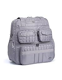 Lug Puddle Jumper Overnight/Gym Duffel Bag, Pearl Grey