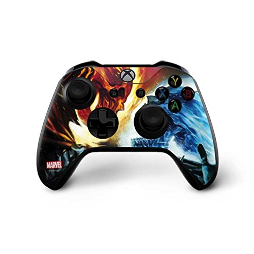 - Skinit Ghost Rider Collision Course Xbox One X Controller Skin - Officially Licensed Marvel/Disney Gaming Decal - Ultra Thin, Lightweight Vinyl Decal Protection