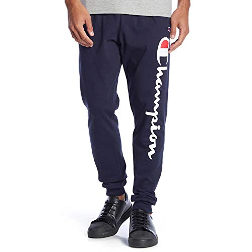 Champion Men's Jersey Jogger, Blue, X-Large