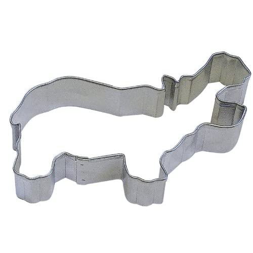 "R&M Hippo 4"" Cookie Cutter in Durable, Economical, Tinplated Steel"