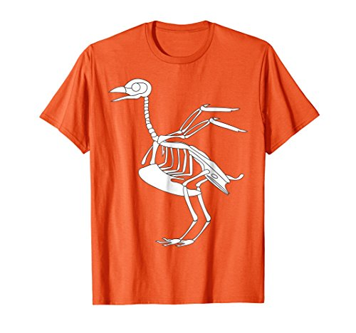Mens Chicken Bones Funny Outfits For Halloween Skeleton