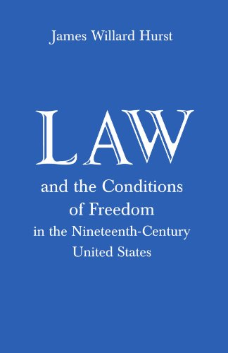 LAW+CONDITIONS OF FREEDOM IN 19TH CENT.