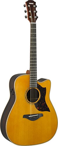 Yamaha A-Series A3R Acoustic-Electric Guitar with Soft Case, Vintage Natural (Best Vintage Yamaha Acoustic Guitars)