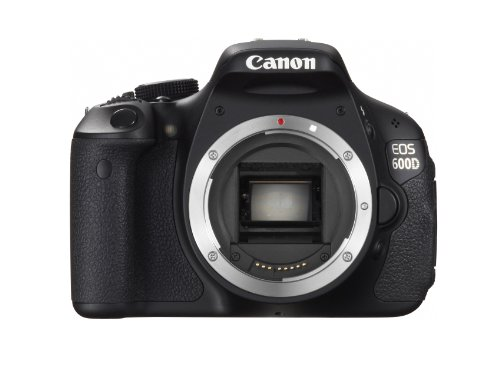 Price comparison product image Canon EOS 600D (European EOS Rebel T3i) 18 MP CMOS Digital SLR Camera (Body Only) - International Version (No Warranty)