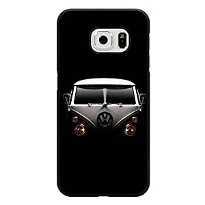 VW Camper Van Mysterious Veil Hardshell Plastic Case For Samsung Galaxy S6 Edge VW Camper Van stylish