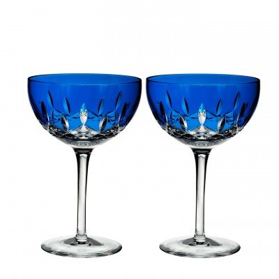 - Waterford Set of 2 Lismore Pops Cocktail Glasses