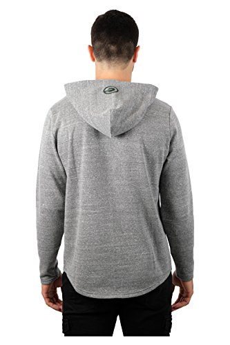 Ultra Game NFL Men's Vintage Soft Fleece Pullover Hoodie Sweatshirt