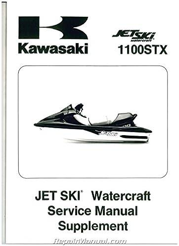 99924 1221 52 1998 1999 kawasaki 1100 stx jet ski factory service rh amazon com Kawasaki ZXI 1100 1998 Speed kawasaki 1100 stx jet ski owners manual