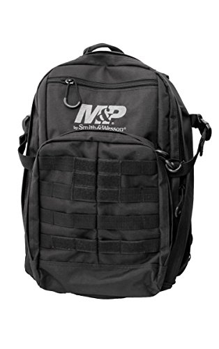 M&P by Smith & Wesson  Duty Series Small Backpack with Tactical Weather Resistant MOLLE for Hunting Hiking Camping Travel School Range Sport Everyday Emergency Daypack