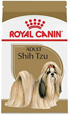 Royal Canin Shih Tzu Adult Breed Specific Dry Dog Food, 10 lb. bag