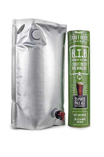 Muntons Craft Beer in a Bag Beer Making Kit | Craft Beer Brewing Kits for Home Brew | Pale Ale - Beer Kit with No Equipment Needed, Just Add Water, 25 Pints Brewed and Ready to Drink in 30 Days
