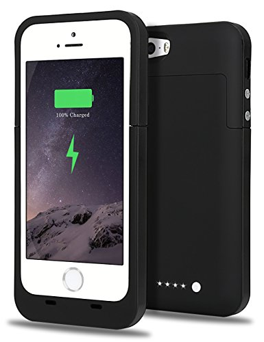 iPhone 5S Battery Case, iPhone SE Battery Case, JIUNAI iPhone