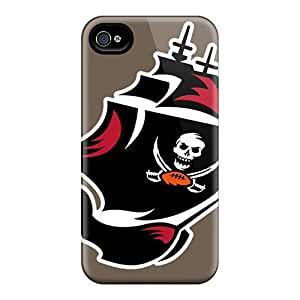 New Tpu Hard Case Premium Iphone 4/4s Skin Case Cover(tampa Bay Buccaneers)