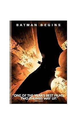 Amazon com: Batman Begins [VHS]: Christian Bale, Michael